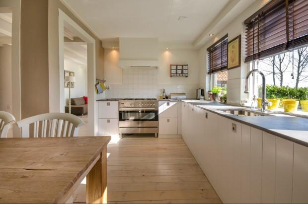 Bodenbelag für die Küche - pur natur